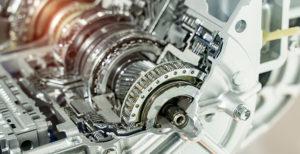 Nachaufnahme eines Automatik-Getriebes