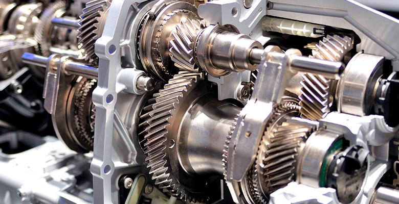Foto eines Getriebes